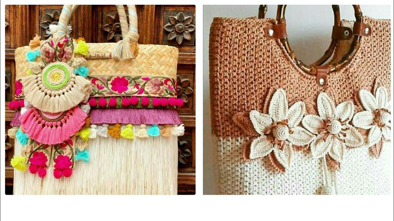 Latest  Best Crochet Bags Design Ideas 2021