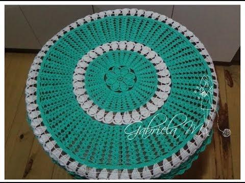 Mantel tejido en crochet paso a paso mesas grandes o chicas