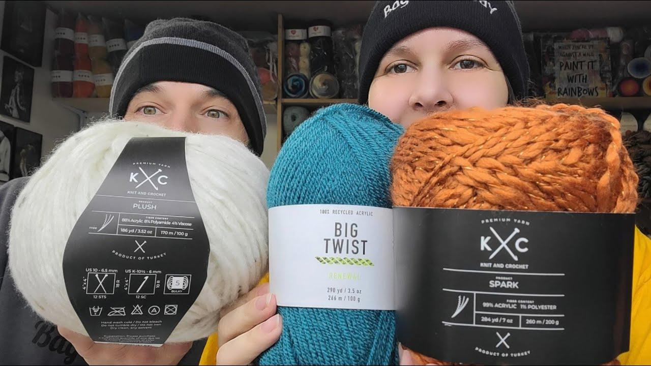 New Yarns Joanns | Yarn Unboxing | Bag O Day Crochet | Mr. BOD