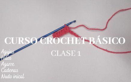 Nudo Inicial y Cadenas Curso Básico De Crochet Clase 1 Ashley Crochet