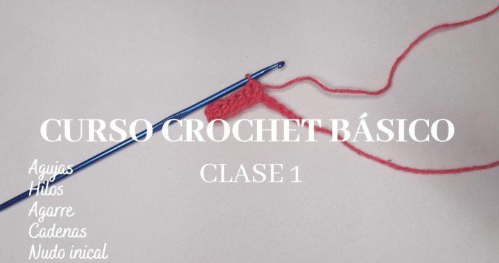 Nudo Inicial y Cadenas|Curso Básico De Crochet|Clase 1|Ashley Crochet