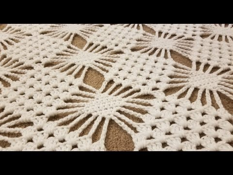 Part 1 - The Granny Spider Stitch Crochet Tutorial!