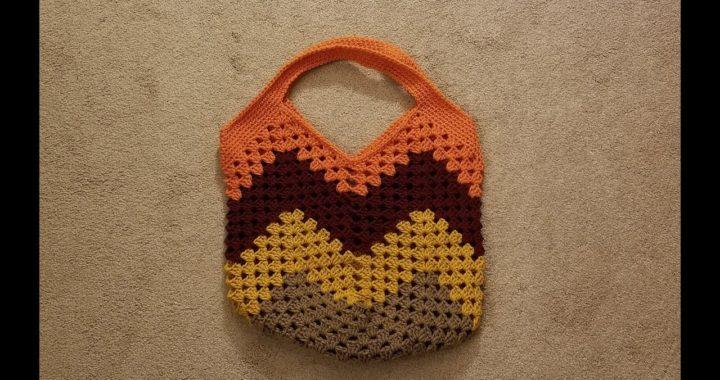 Part 2 - The Granny Stitch Bag Crochet Tutorial!