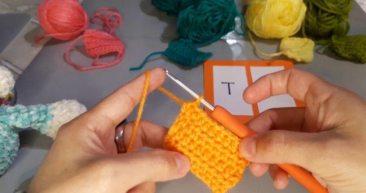 Puntos basicos tecnica crochet #4