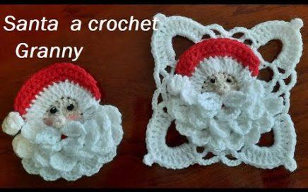 Santa a crochet  Granny
