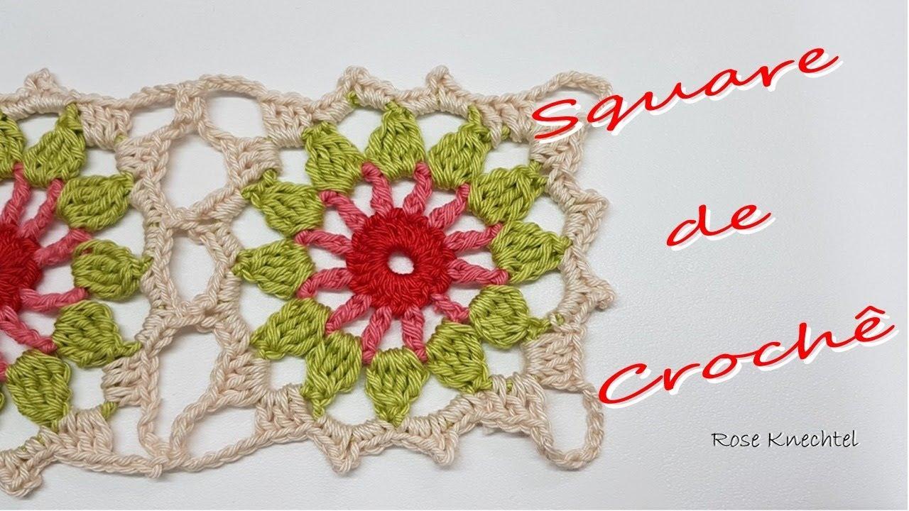 Square de Crochê 04 e União