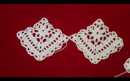 Square para blusa de crochê #1
