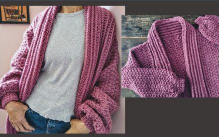 Suéter a crochet para mujer muy fácil ¡Paso a paso!