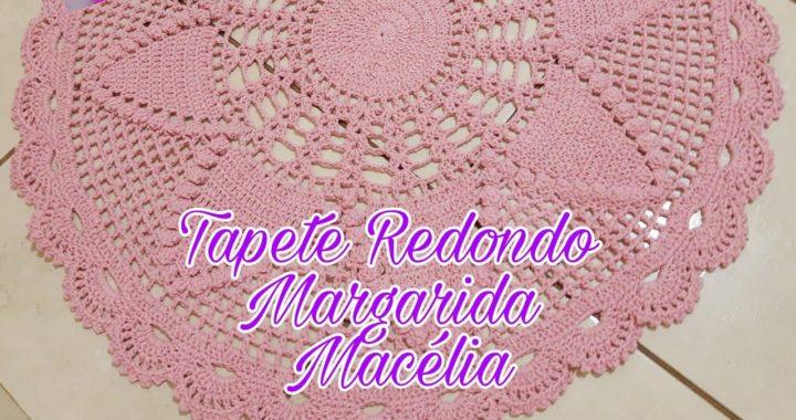Tapete Redondo Margarida Macélia #FatimaMaia