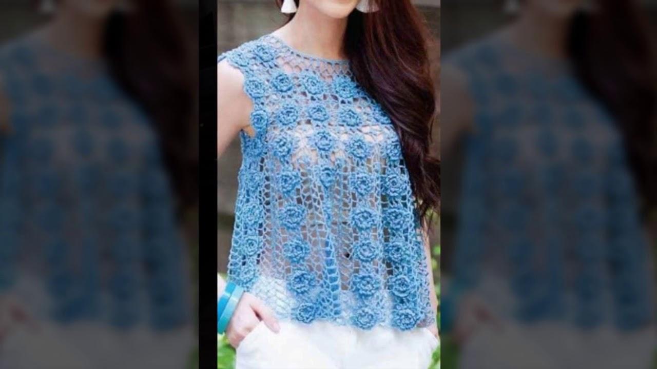 Tejidos a crochet moda actual
