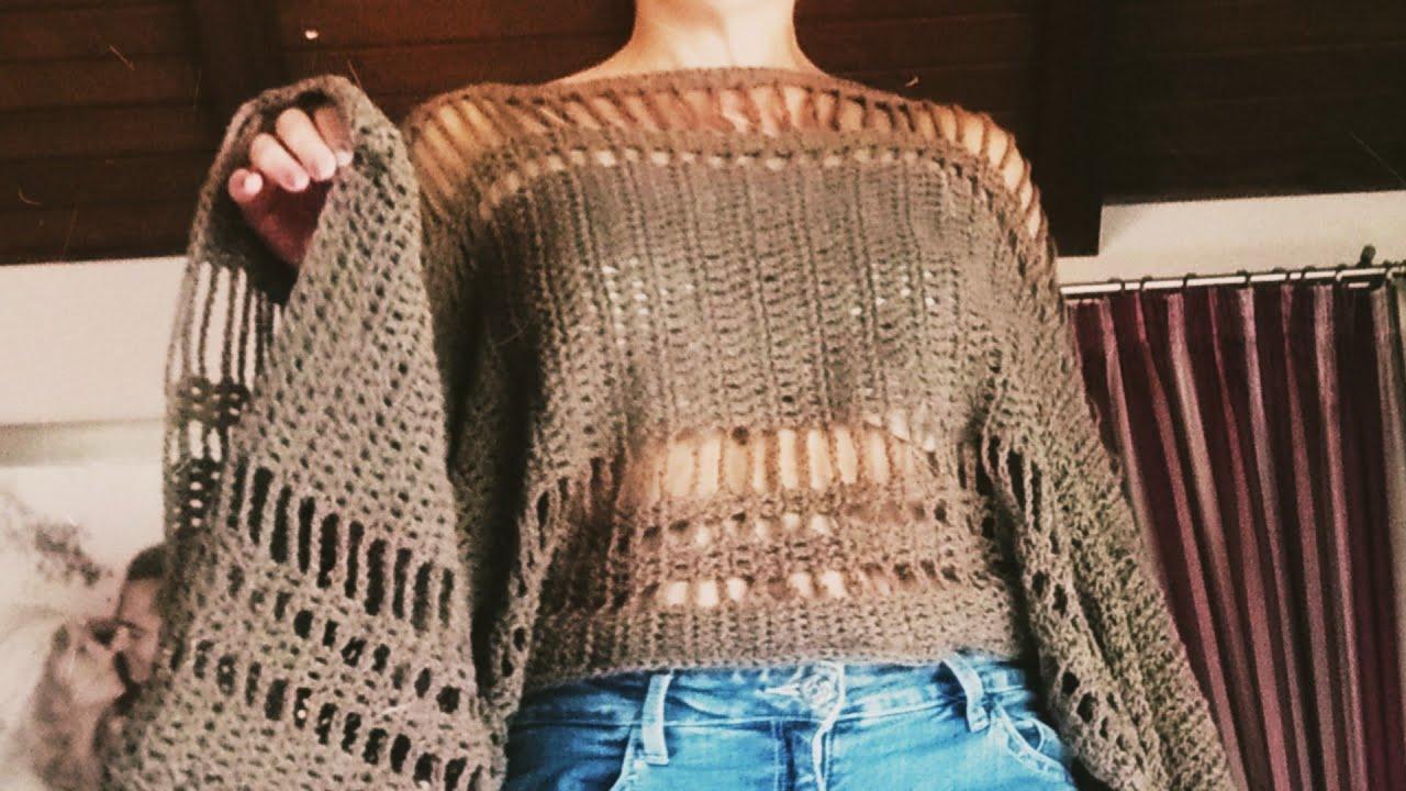 Top Paradise a Crochet ( Fácil Principiantes)