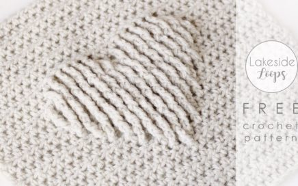 Traveling Afghan Crochet Square #5 FREE Pattern & Video Tutorial