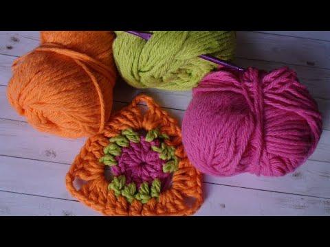 Triangle Crochet Motif Diagram