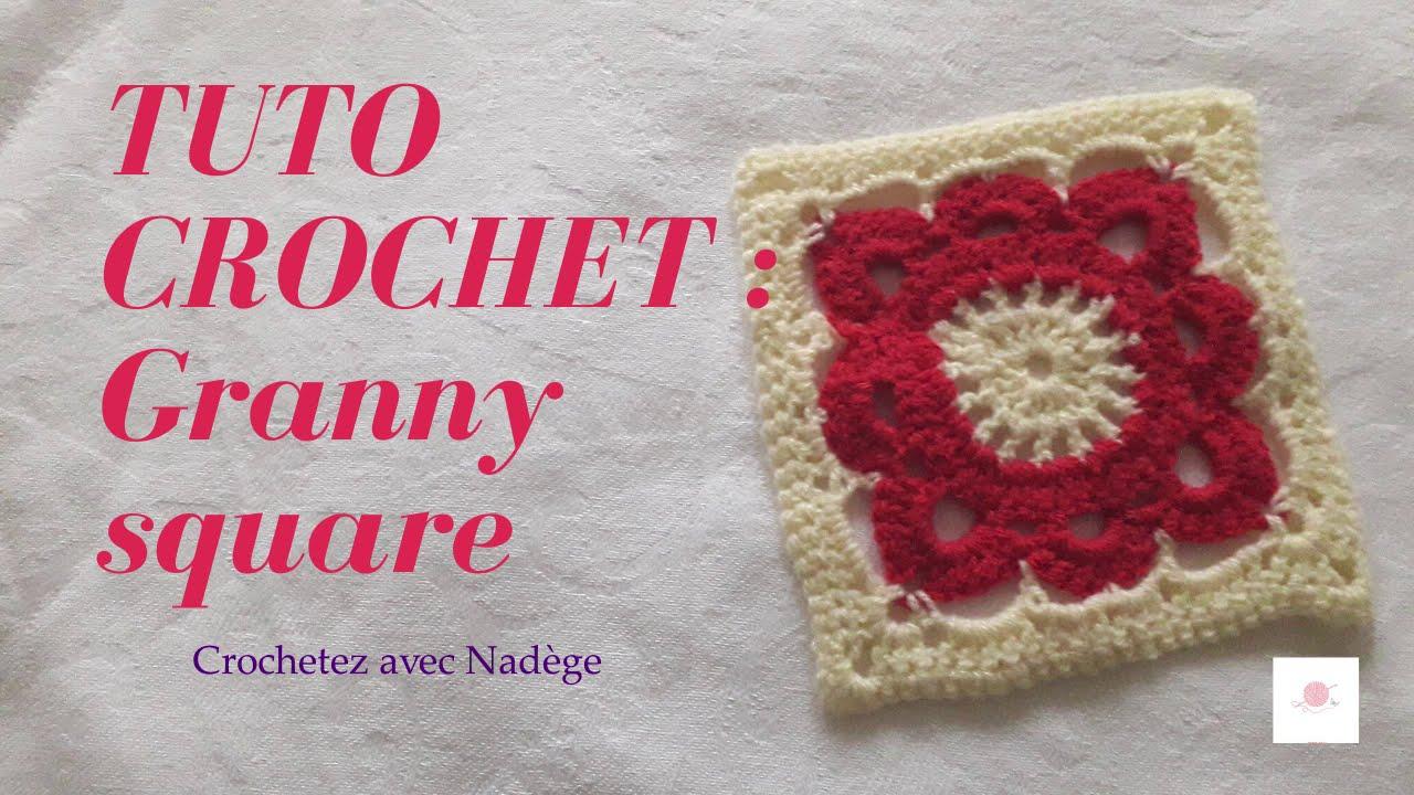 Tuto crochet : Granny square