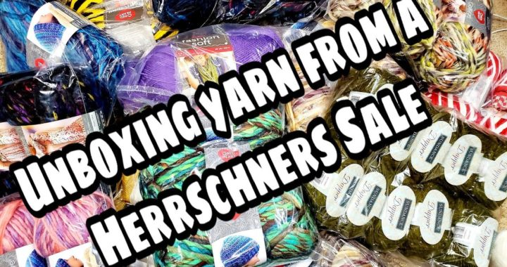 Unboxing Sale Yarn from Herrschners - Yarn Haul - Bagoday Crochet