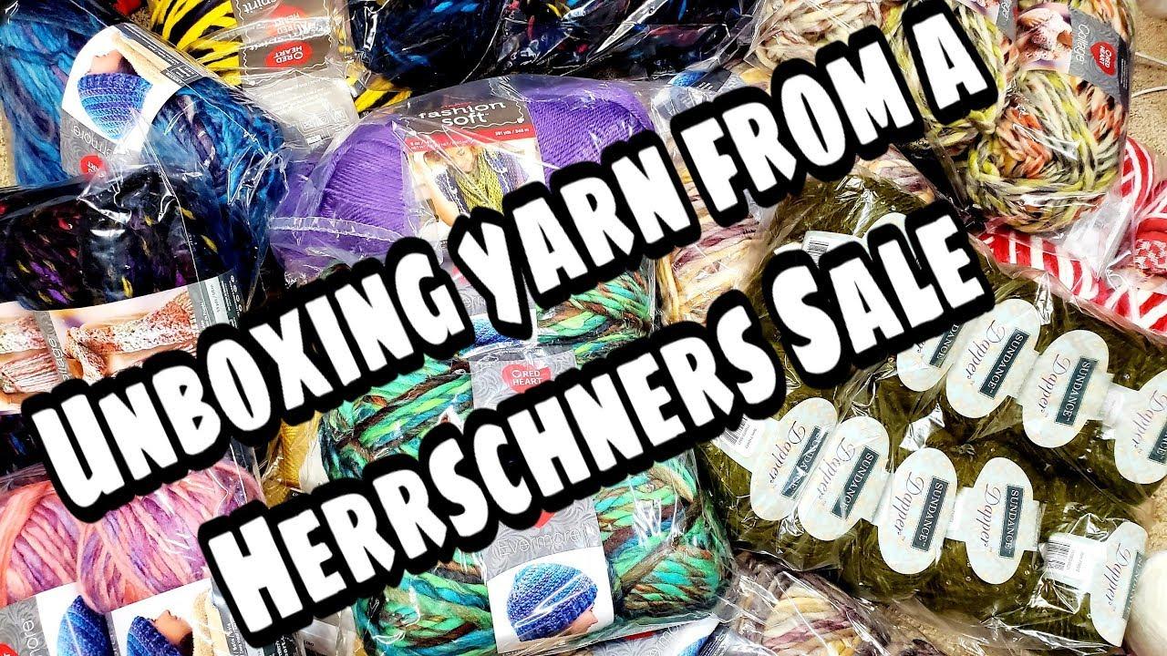 Unboxing Sale Yarn from Herrschners - Yarn Haul - Bagoday Crochet