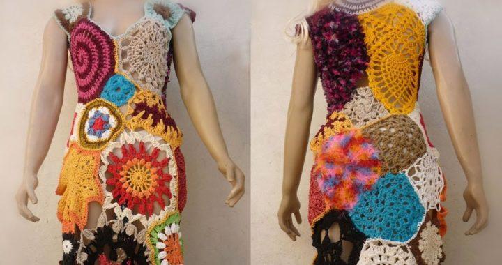 Vestidos Coloridos en Crochet