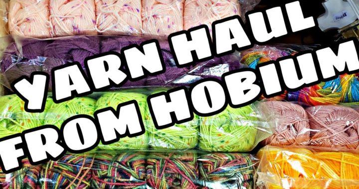 Yarn Haul | Unboxing Yarn From Hobium | Bag O Day Crochet