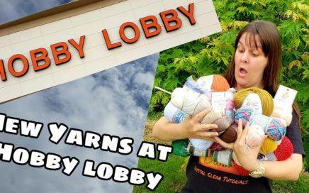 Yarn Shopping - Hobby Lobby New Yarns   Yarn Haul   Bag O Day Crochet