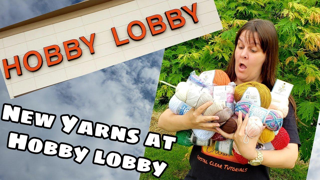 Yarn Shopping - Hobby Lobby New Yarns | Yarn Haul | Bag O Day Crochet