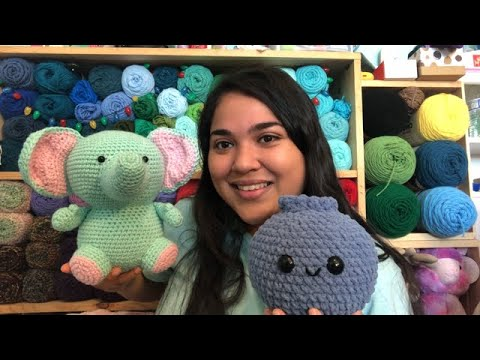 Yarn Talk Episode 24 : Finished amigurumis, new patterns, and a little recap