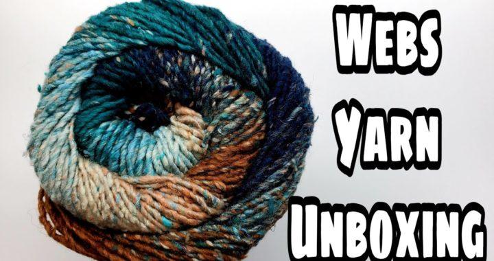 Yarn Unboxing Videos   Webs Yarns Haul   Webs Yarn Reviews   bagoday crochet