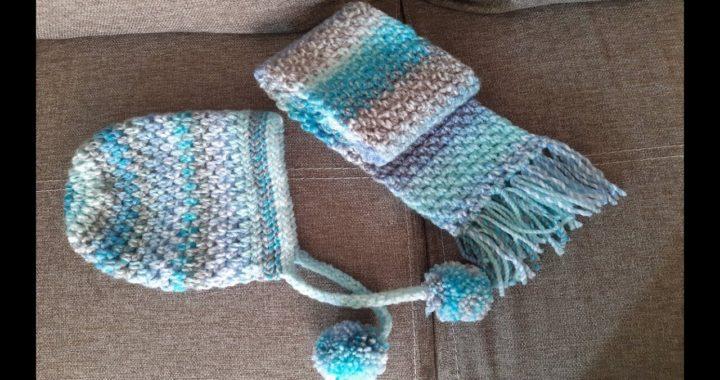bufanda a crochet - tejido a ganchillo - tutorial - facil de tejer