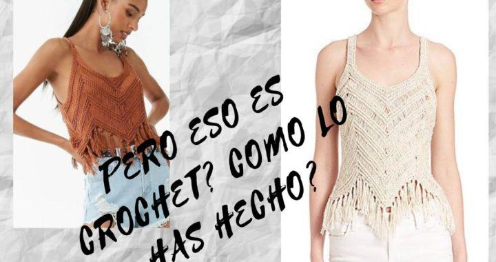 como tejer blusa facil  a crochet para verano : playa caribe  principiantes (nueva tecnica)