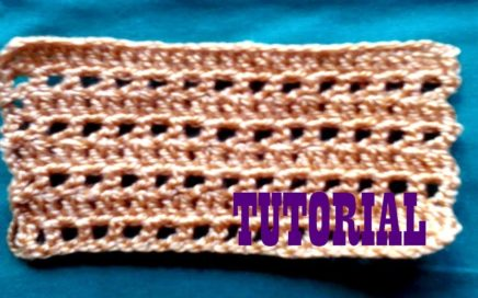 punto de crochet fácil