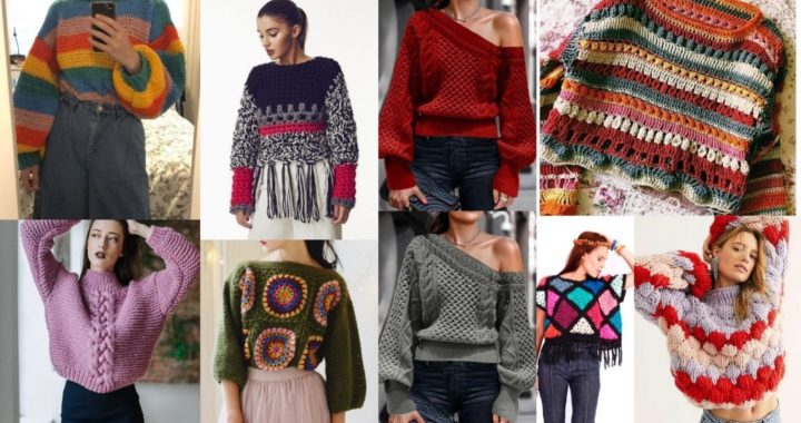 trendi Designers handmade colourful granny square blouse patterns ideas/ top high fashion for ladies