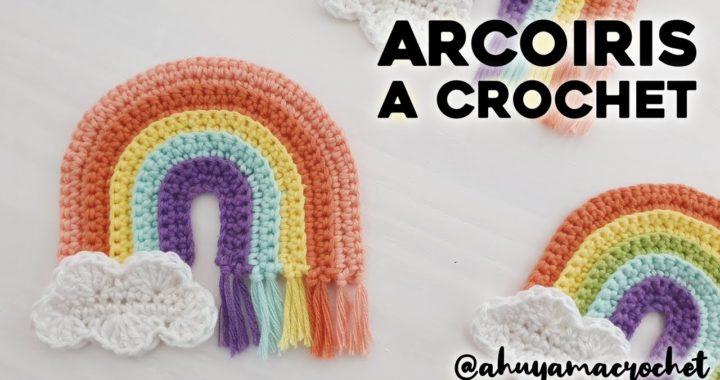 ARCOIRIS A CROCHET paso a paso: cómo tejer arcoíris a crochet - tutorial y patrón | Ahuyama Crochet