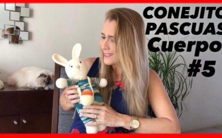 👉Amigurumi CONEJO PASCUA #5 🥰Tejido a CROCHET Paso a Paso, Huevo Pascua