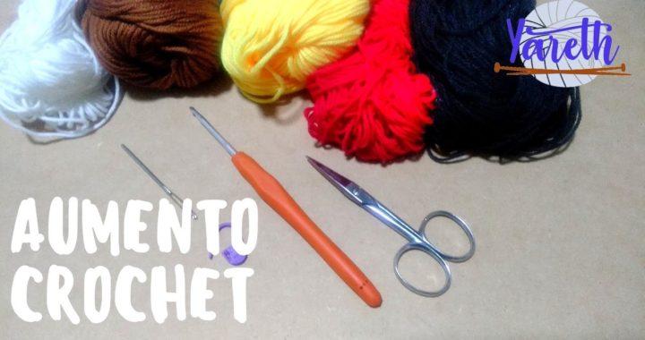 Aumento | Básico Crochet