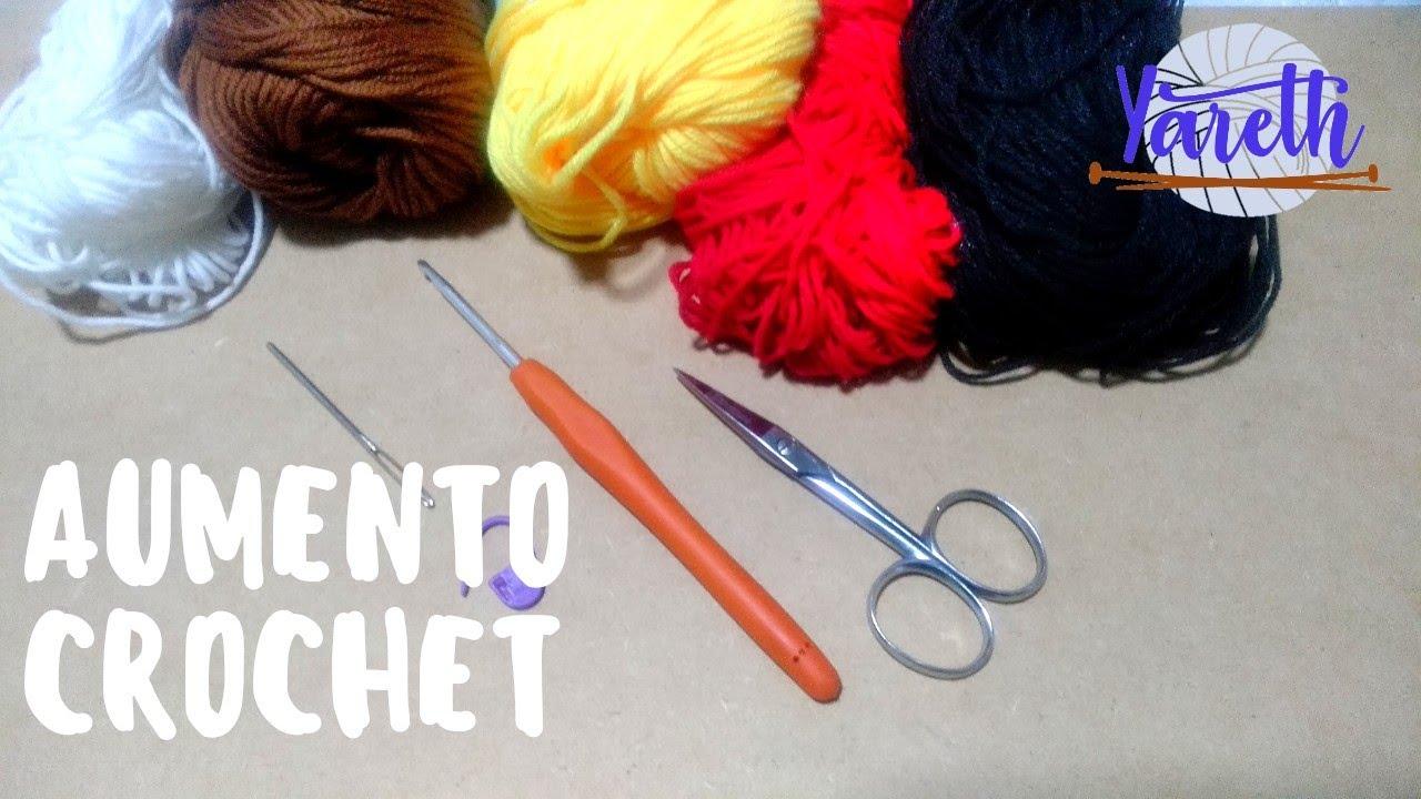 Aumento   Básico Crochet