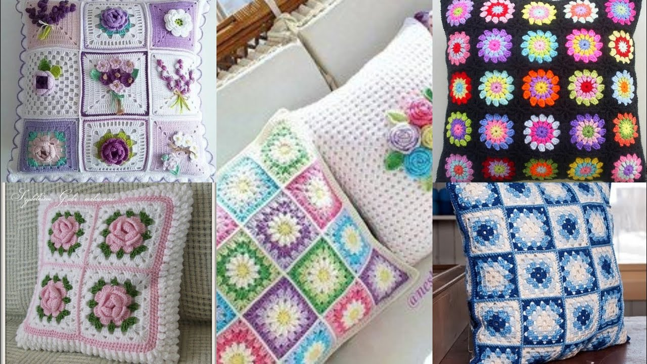 Best Collection 2021 Of Hand Crochet Square Block Patterns and designs for Cushions /Bedsheets