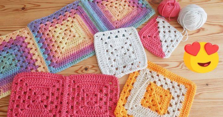 Blossom Crochet: I've gone Granny Square CRAZY!
