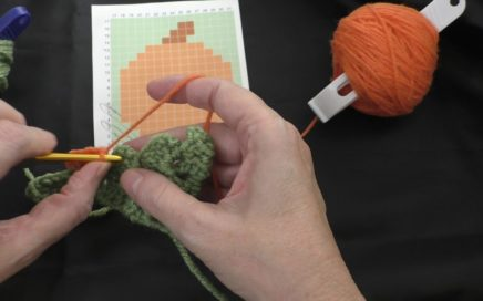 C2C Fall Graph-along Square #1 Part 1 (Left-handed)