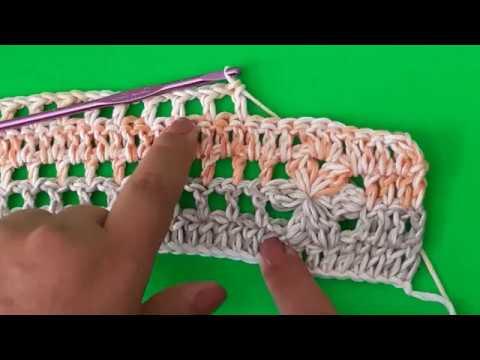 Chaleco para mujer a Crochet - tejido facil parte #1