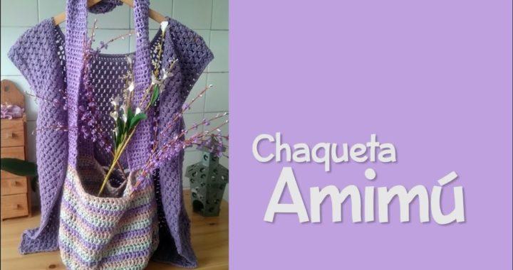 Chaqueta Amimú a crochet