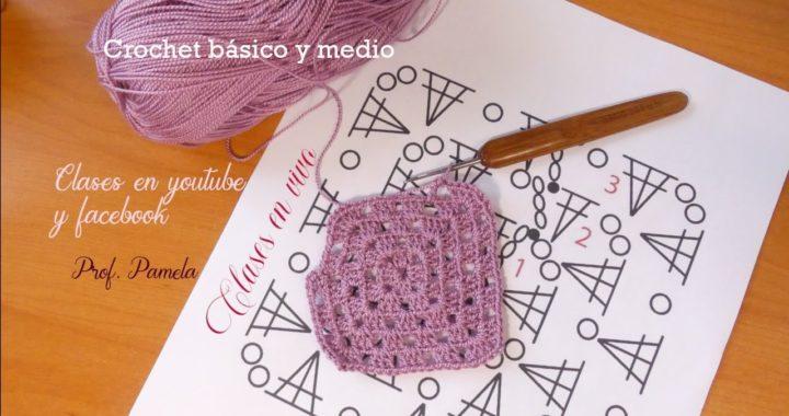 Clase de crochet básico principiantes
