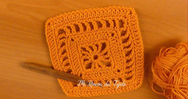 Clase de crochet básico principiantes: Tejiendo grannys