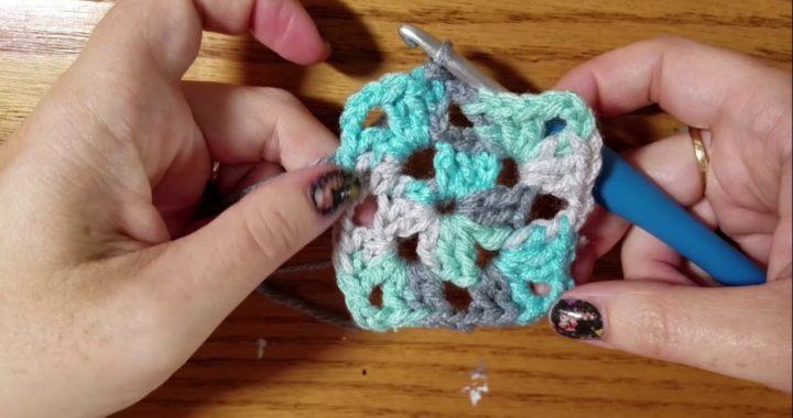 Continuous Granny Square blanket tutorial