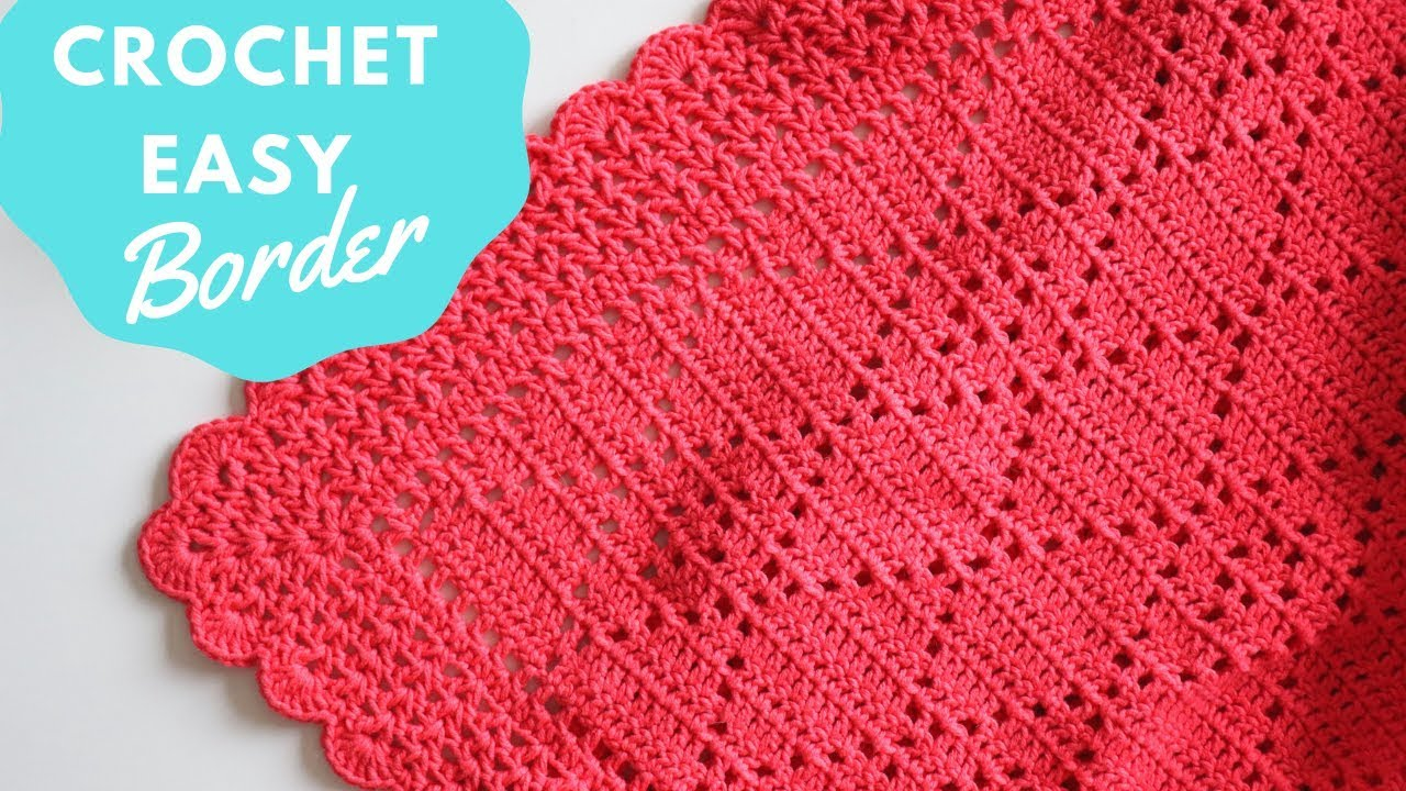 Crochet Easy Border