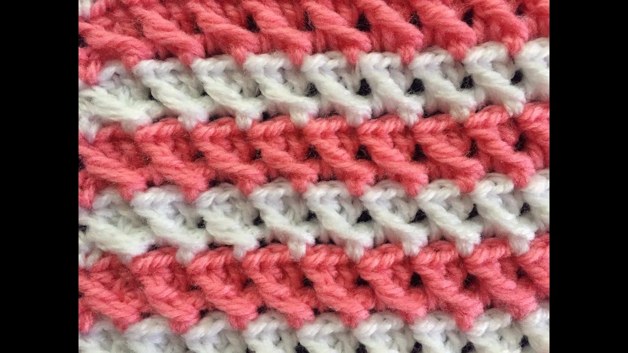 Crochet Easy Stitch Tutorial