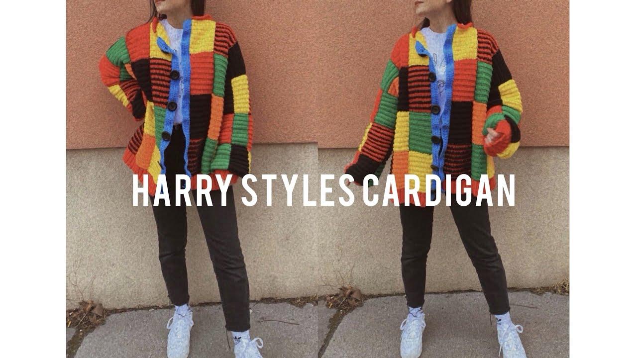 Crochet HARRY STYLES CARDIGAN (JW ANDERSON)