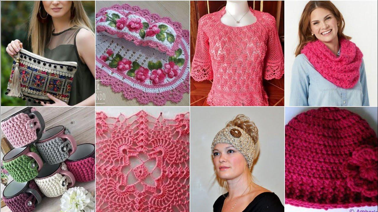 Different Stylish Crochet patterns ideas