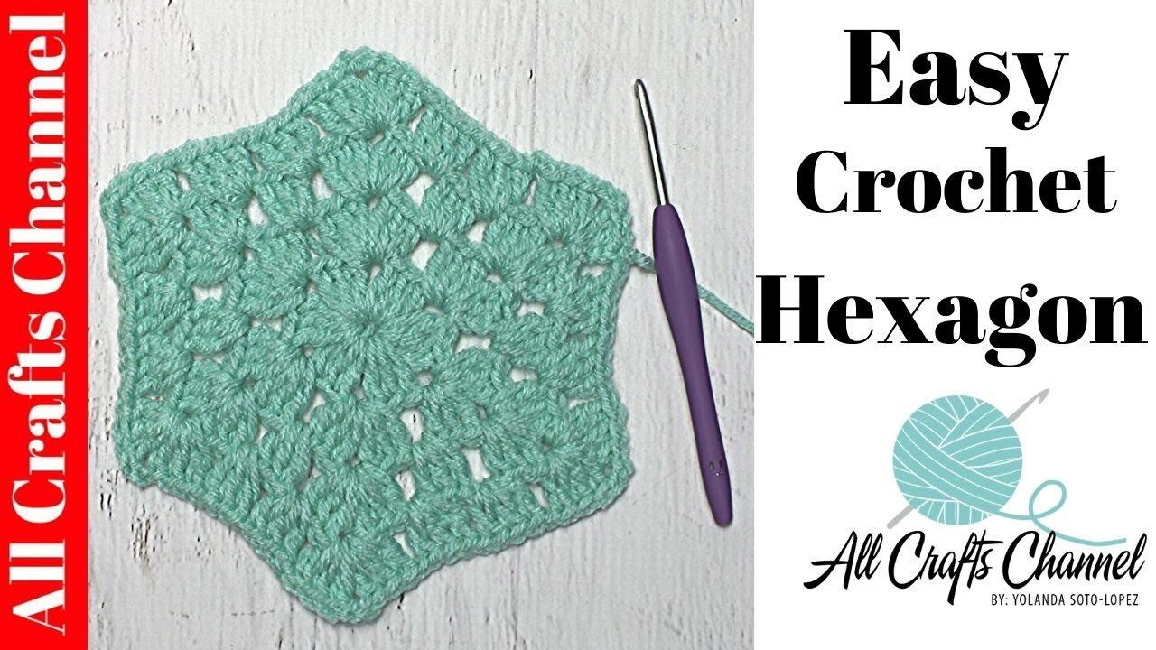 Easy to Crochet Hexagon