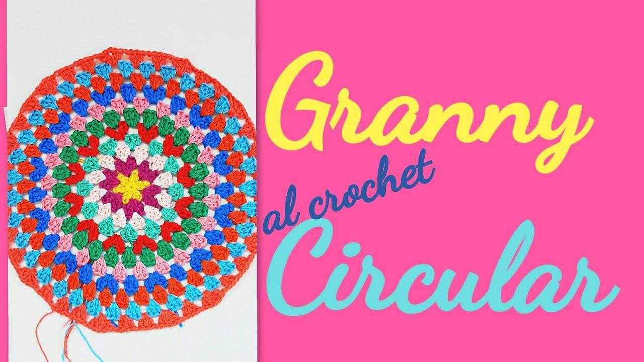 Granny Circular infinito super fácil al crochet