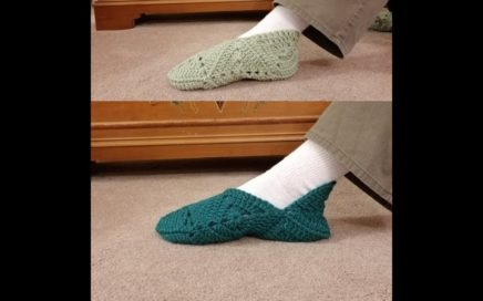 Granny Square Slippers in 2 Styles - Crochet Tutorial!