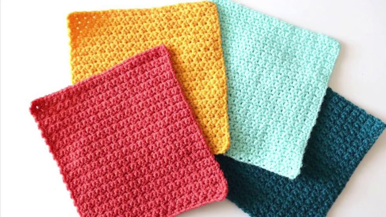 Grit Stitch Crochet Squares